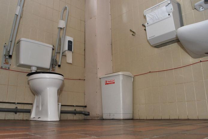 Een invalidentoilet, niet in Waalwijk of Heusden.