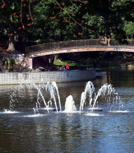 Fontein in Anton van Duinkerkenpark weer veilig aan