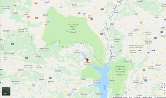 Radio-ecologisch Reservaat Polesski ligt op ongeveer 25 kilometer van Tsjernobyl.