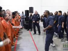 Kanye West donne un concert surprise dans une prison texane