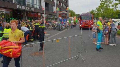 Vijf kinderen naar het ziekenhuis na ongeval met springkasteel in Nederland