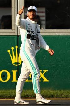 Verstappen op P4 in Melbourne, pole voor Hamilton