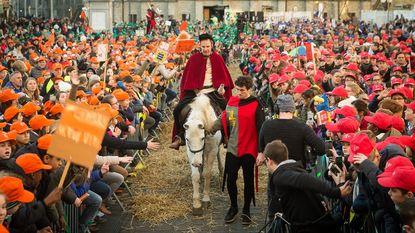 Heilige Bavo verschijnt voor 3.000 vormelingen
