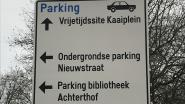 Verkeersborden helpen bezoekers voortaan naar parkeerplaats