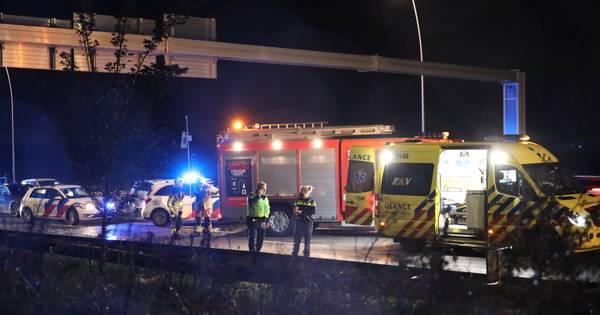 Man bejegent agent bij dodelijk ongeval bij Waalwijk: 'Ga eens werken man'.