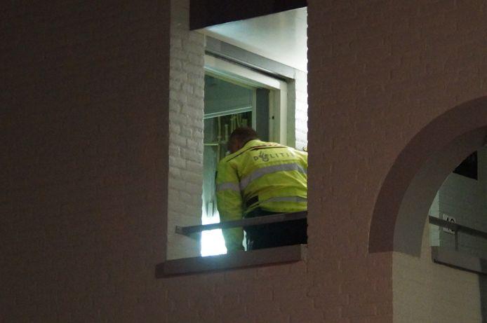 Drugs gevonden in woning aan Anton Pieckplein in Kaatsheuvel.