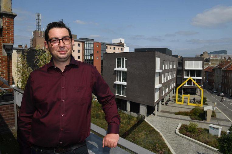 Laurent Goethals (Liever Leuven) is een nieuwkomer in de Leuvense politiek.