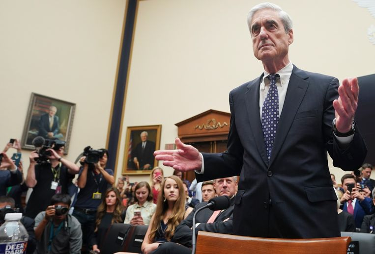 Speciaal aanklager Robert Mueller leidde het onderzoek over de Russische inmenging in de Amerikaanse verkiezingen.