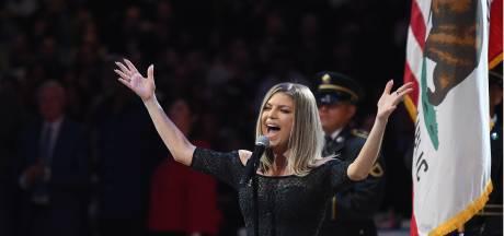 Fergie erkent mislukte vertolking volkslied bij All-Star Game