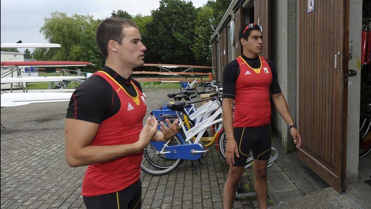 Laurens Pannecoucke, hier samen met Olivier Cauwenberg.