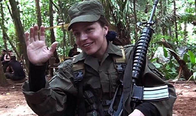FARC-rebel Tanja Nijmeijer (34).