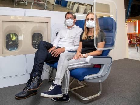 Weer coronaproof vliegen door speciaal beschermingsglas van bedrijf uit Voorthuizen?
