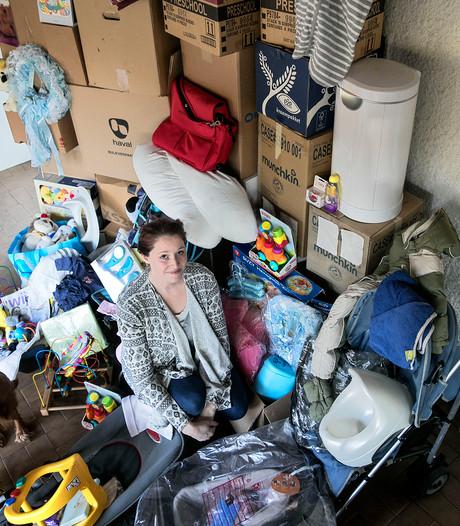 Helmondse 'kledingbank voor baby's' kan geen kant meer op