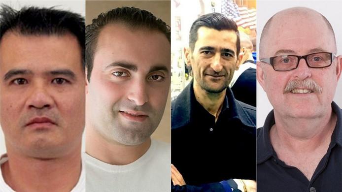 Tuan Nguyen, Mijkel Akfidan, Artur Sargsyan en Max Klaassen.