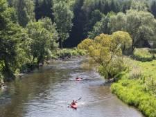 Pas de kayaks sur l'Ourthe en raison d'un niveau d'eau trop faible