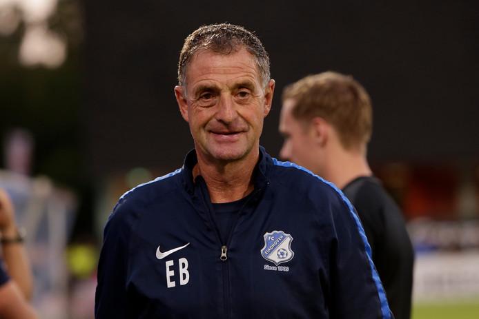 Ernie Brandts, hoofdtrainer van FC Eindhoven.