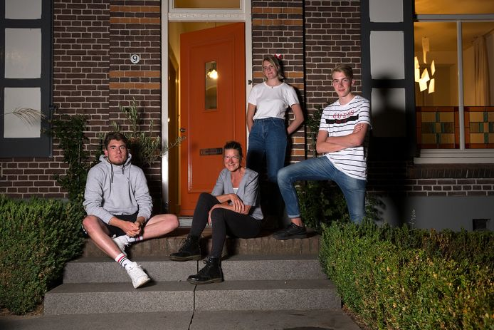 De familie Huntink uit Drempt.