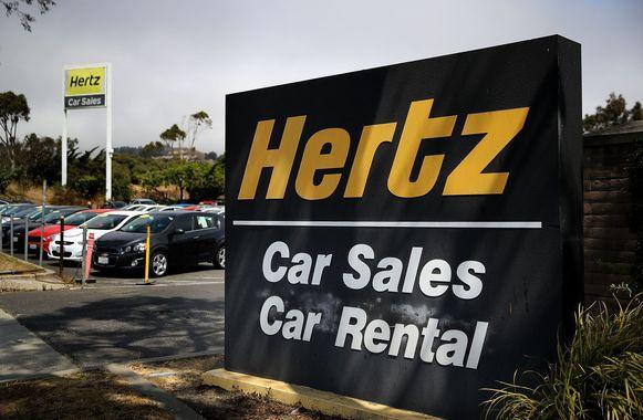 Een Hertz-bedrijf in de VS.