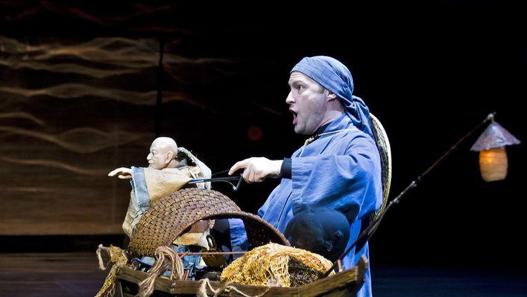 De Nederlandse Opera repeteert de nieuwe productie De Nachtegaal en andere fabels van Igor Stravinsky, in januari. Beeld ANP