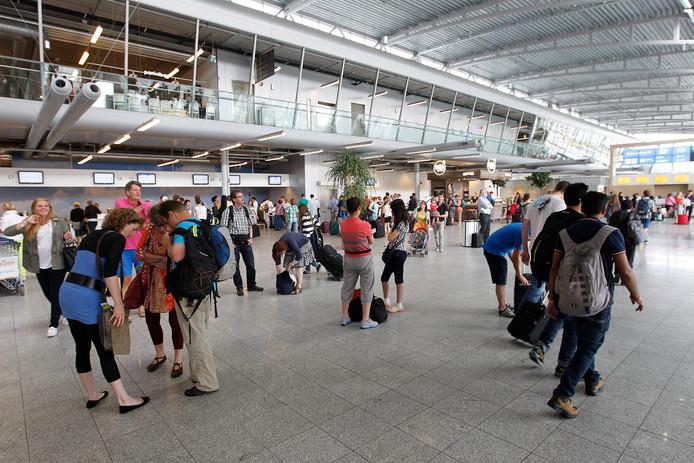 De terminal van Eindhoven Airport