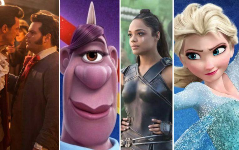 Steeds meer LGBTQ-personages in Disneyfilms.