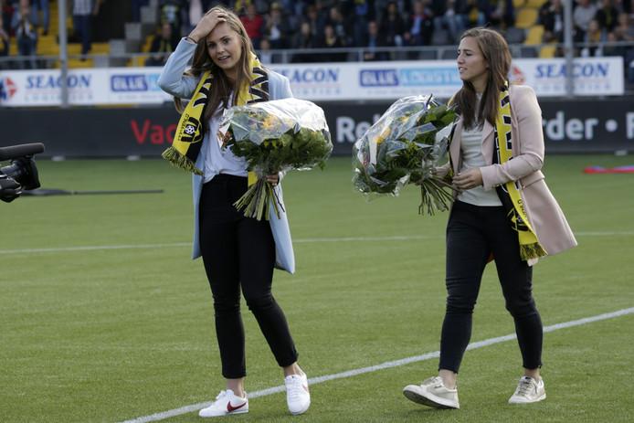Vanity Lewerissa (rechts) met Lieke Martens.