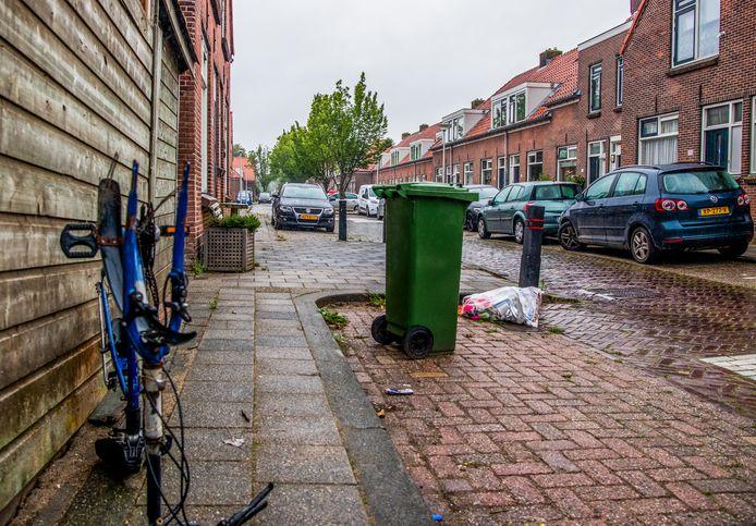 De F.W. Reitzstraat in de wijk Kort Haarlem in Gouda.