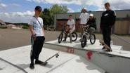 """Skaters zijn  vandalisme op spooksite beu: """"Geef ons een nieuw skatepark op een openbare plaats"""""""