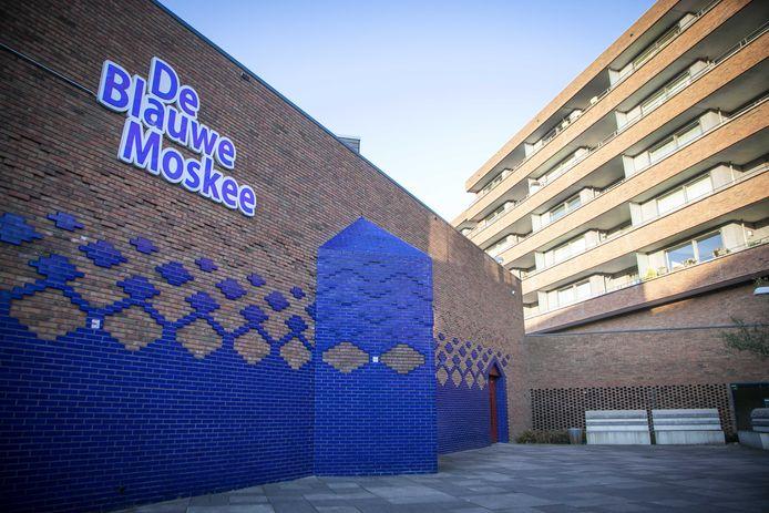 De Blauwe Moskee in Amsterdam werd gebouwd met geld uit Koeweit.
