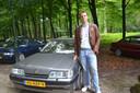 Voor de eerste keer toont Marc zijn Rover 827 Vitesse aan het Doornse publiek.