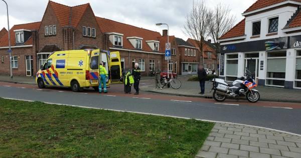 Motorrijder naar ziekenhuis na eenzijdig ongeval in Enschede.