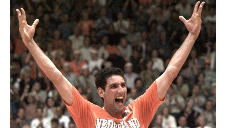 De Amsterdamse volleyballer Ron Zwerver is opgenomen in de Hall of Fame. Beeld ANP