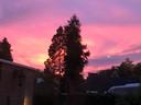 Zonsondergang in Epe.