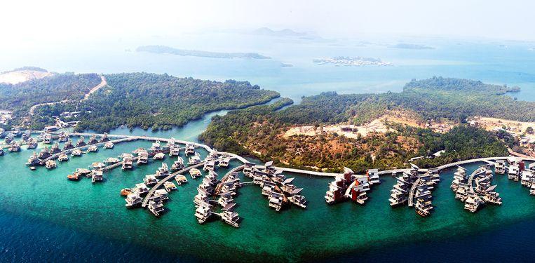 Het vakantieoord Funtasy Island had de Indonesische eilandengroep Pulau Manis op zijn site ingelijfd voor marketingdoeleinden. Beeld null