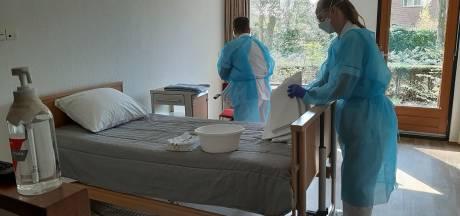 Minder coronapatiënten, dus noodhospitaal De Dillenburg in Ermelo gaat ook andere mensen opvangen