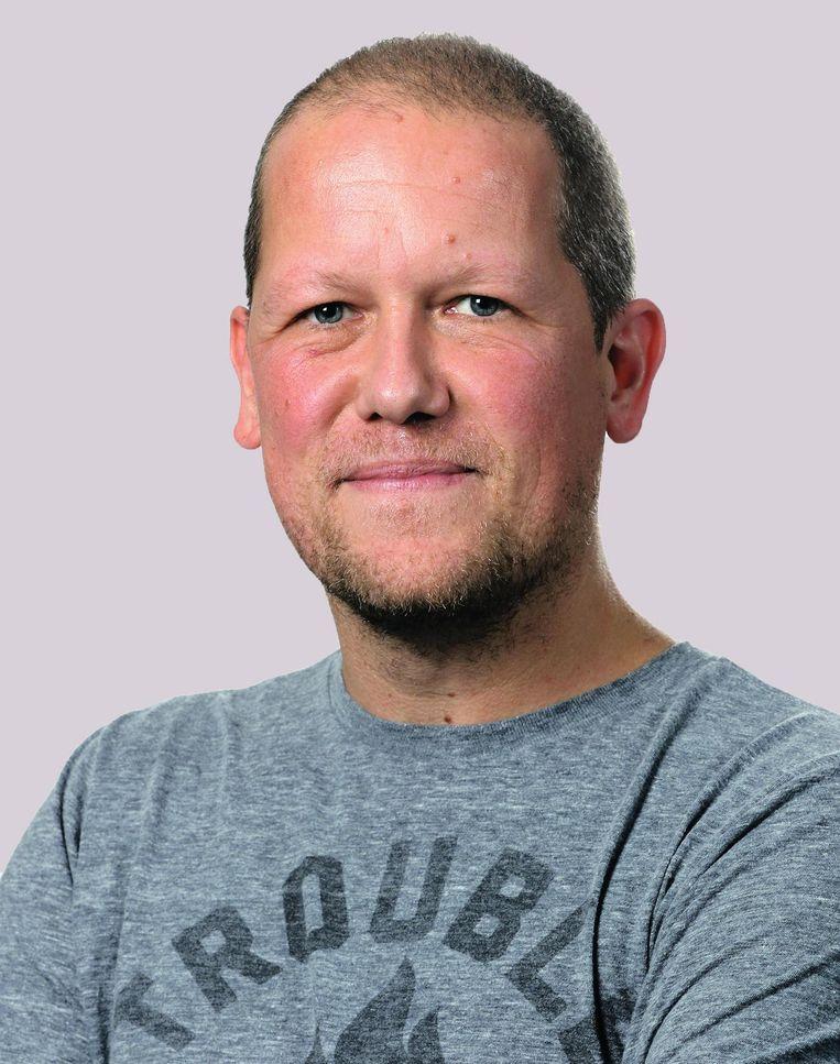 Hoofdredacteur Dimitri Antonissen.