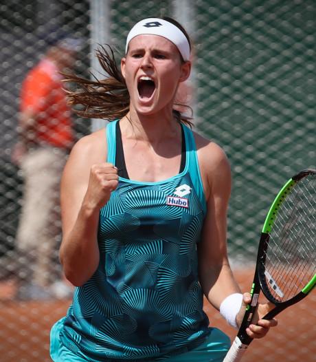 Greet Minnen rejoint le 3e et dernier tour des qualifications de Roland-Garros