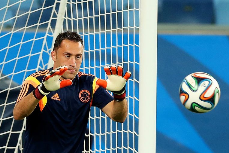 Colombia-doelman David Ospina Beeld AFP