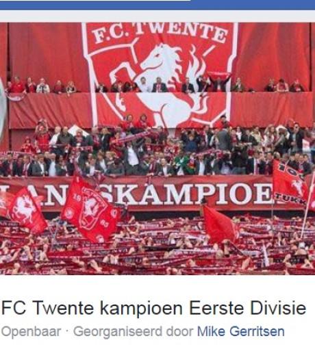 FC Twente-Facebook-event   Mike Gerritsen blijft lopen