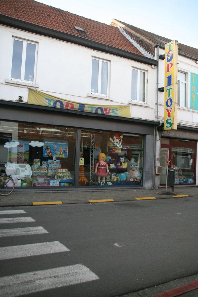 Foto van toen Toys nog open was
