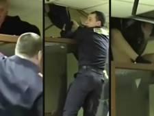 Moordverdachte probeert vanuit kooi in rechtszaal te ontsnappen via plafond