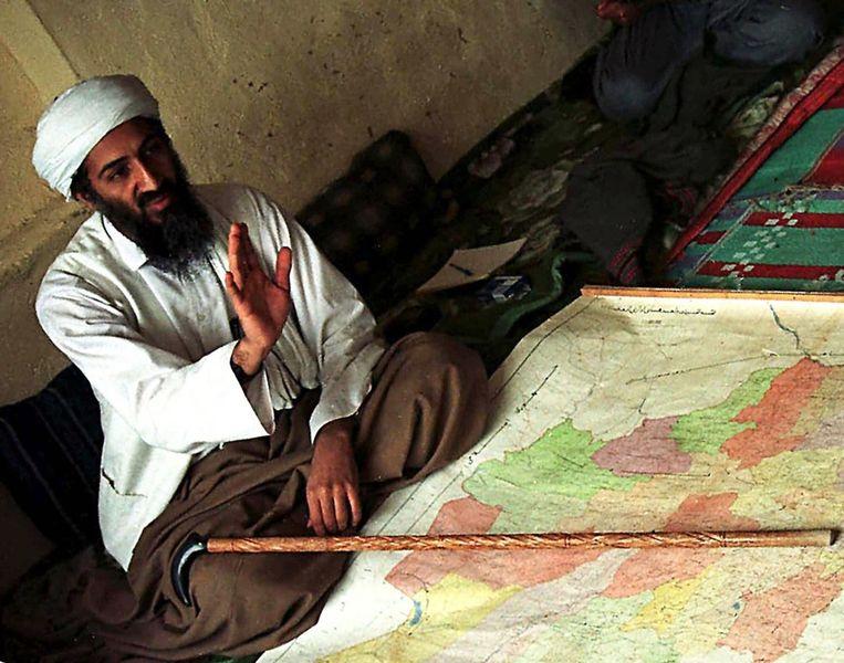 Osama Bin Laden in 1998. Beeld ap