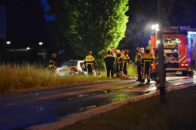 Twee gewonden bij ongeluk in Breda; traumahelikopter opgeroepen