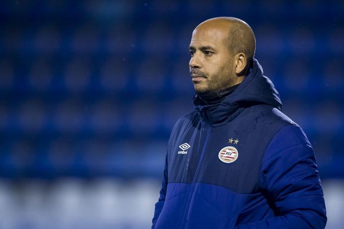 Pascal Jansen, trainer van Jong PSV.