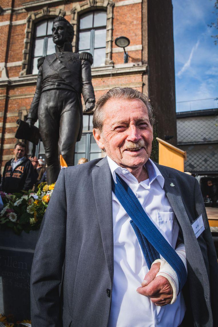 Professor Evrard ijverde met zijn comité 'Willem, Bedankt!' acht jaar voor de komst van het standbeeld van de vorst.
