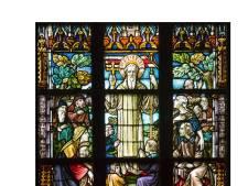 Gebrandschilderde ramen in Deventer Broederenkerk te kijk gezet