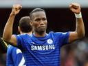 Didier Drogba was zeer succesvol in het shirt van Chelsea.