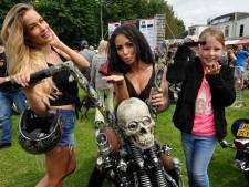 Woerdense Harleydag net als alle andere, maar wel zonder logo's en jacks van motorclubs