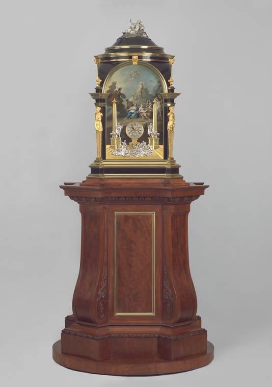 De wereldberoemde klok van Charles Clay, vanaf vrijdag te zien in Museum Speelklok in Utrecht.
