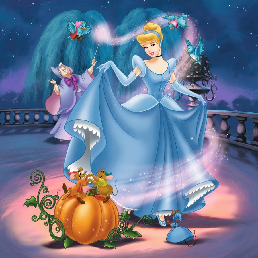 Disney Animatiefilm Assepoester uit 1950.